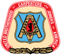 United Brotherhood of Carpenters and Joiners of America Union logo